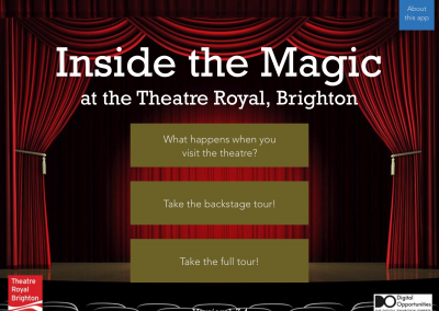 Theatre Royal accessibility app